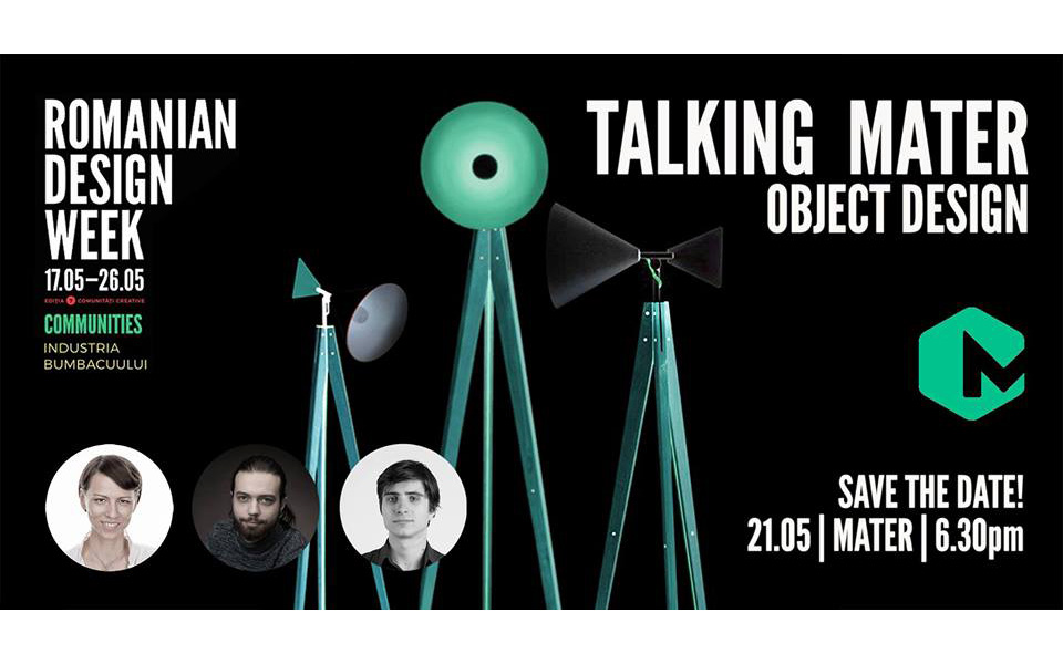 Talking MATER | Design de Obiect