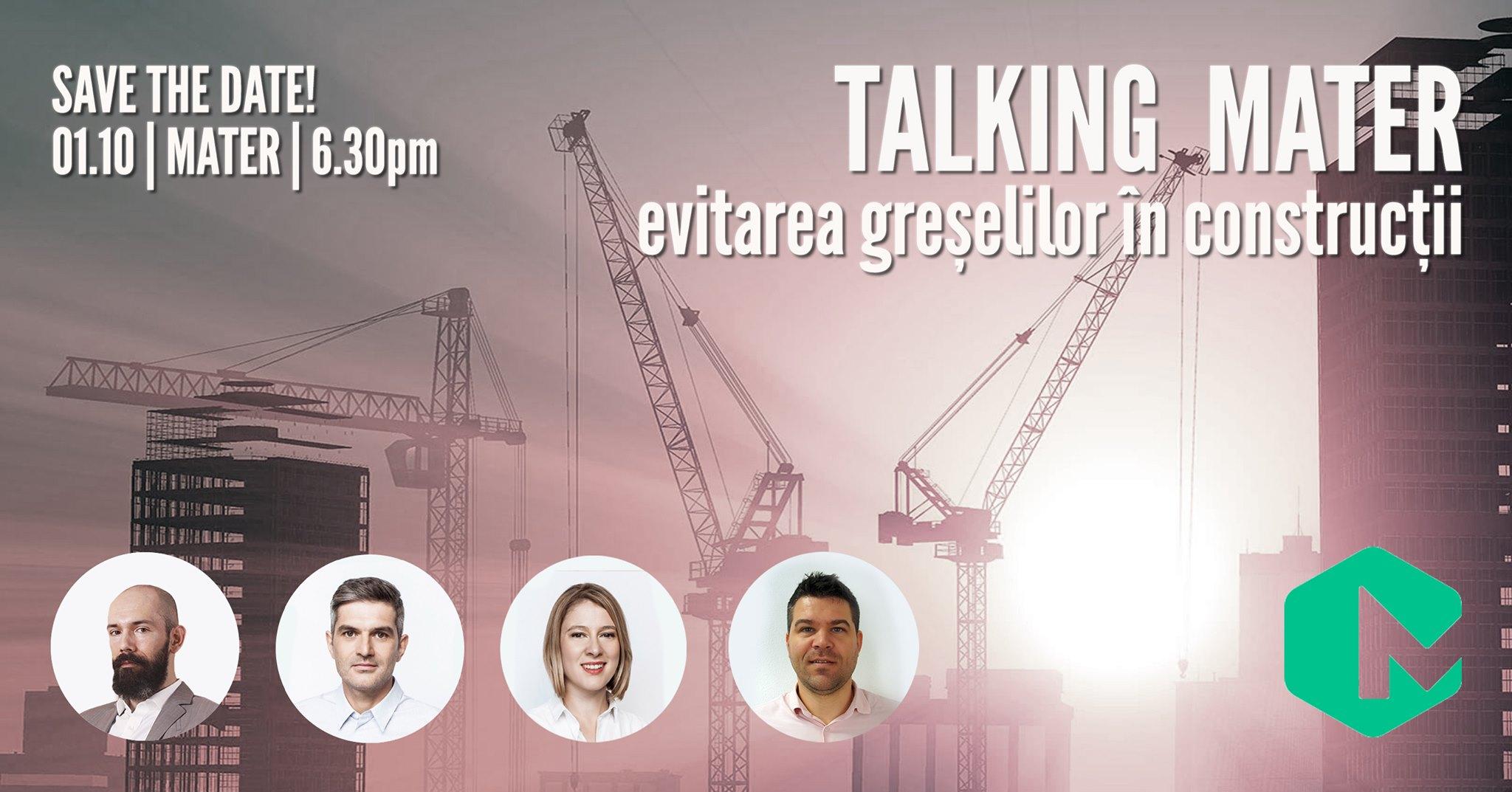 Talking MATER | Evitarea Greșelilor în Construcții